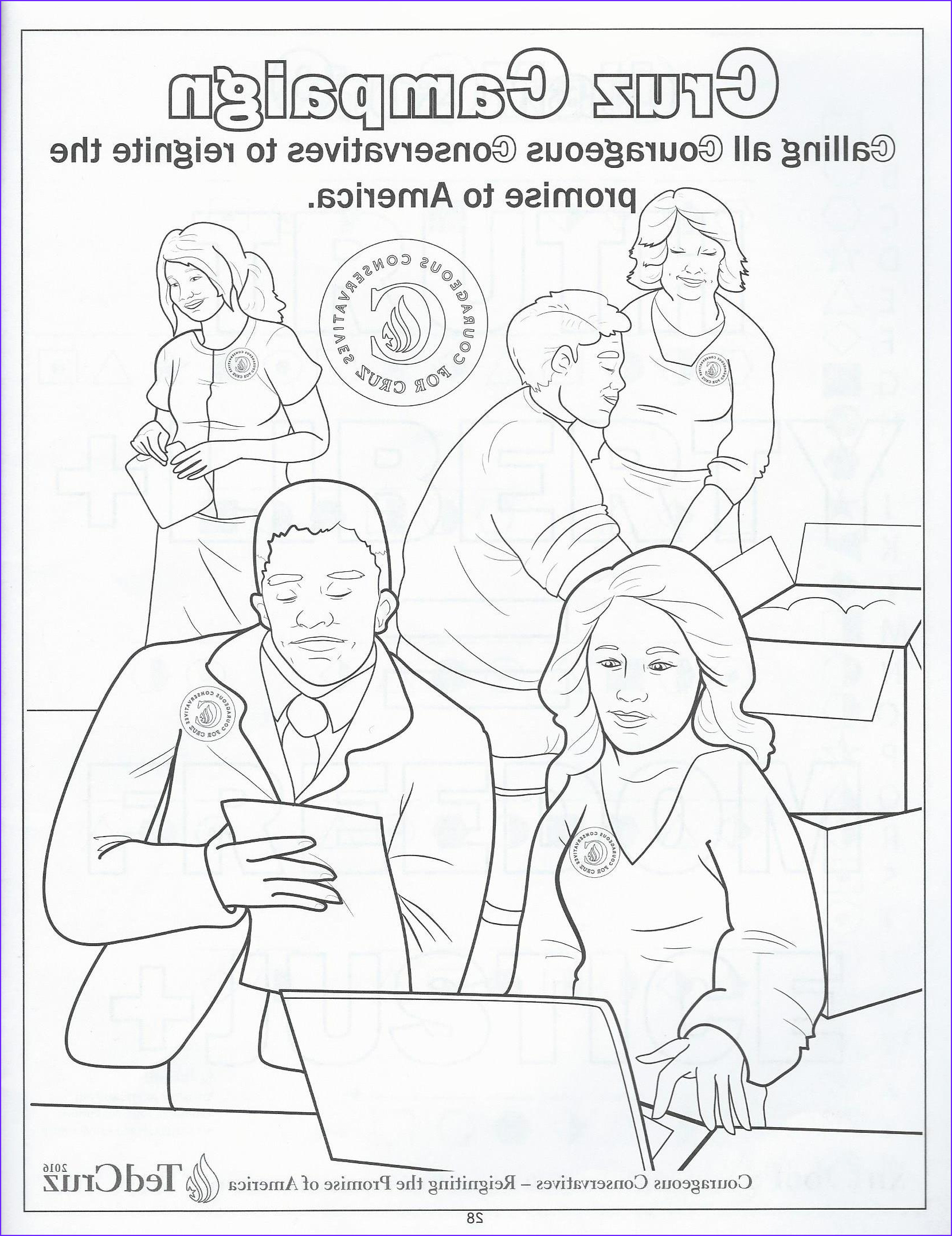 Cruz Coloring Book Awesome Photos We Review Ted Cruz S Ridiculous Children S Coloring Book