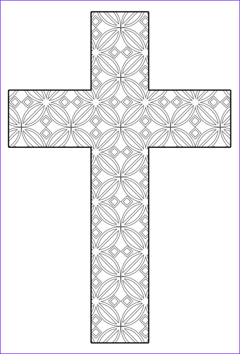 Cruz Coloring Book Inspirational Gallery Free Printable Cross Coloring Pages