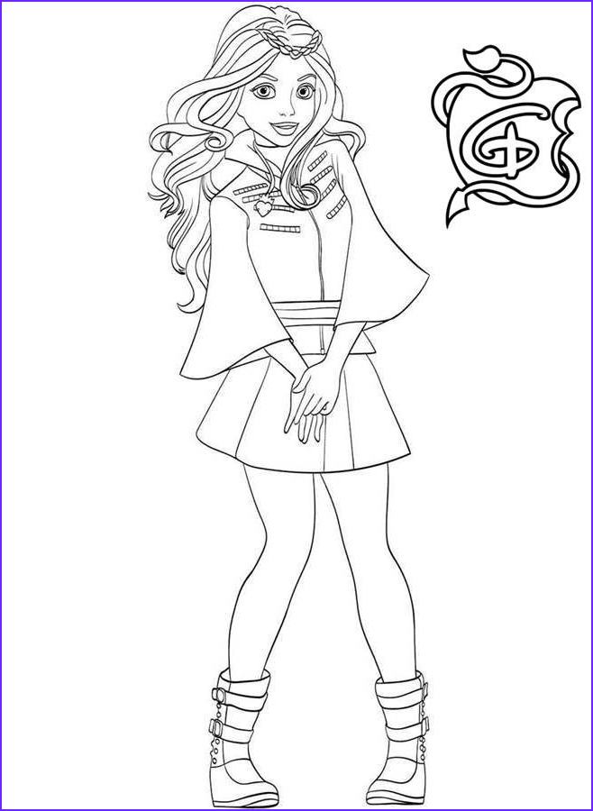 Descendants Coloring Sheet Inspirational Photos Evie Coloring Pages Coloring Home