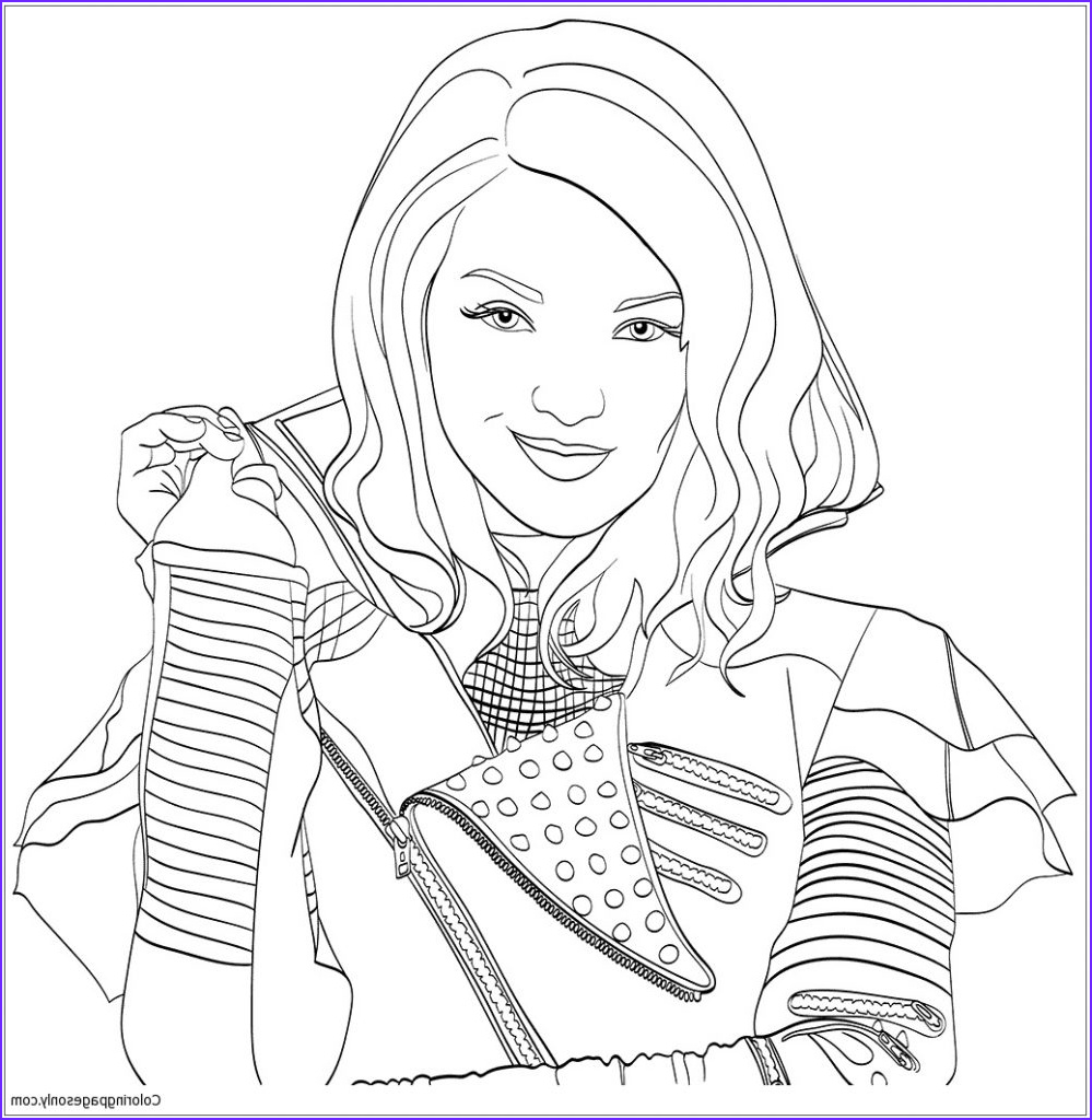 Descendents Coloring Page Luxury Stock Disney Descendants Coloring Pages Printable at