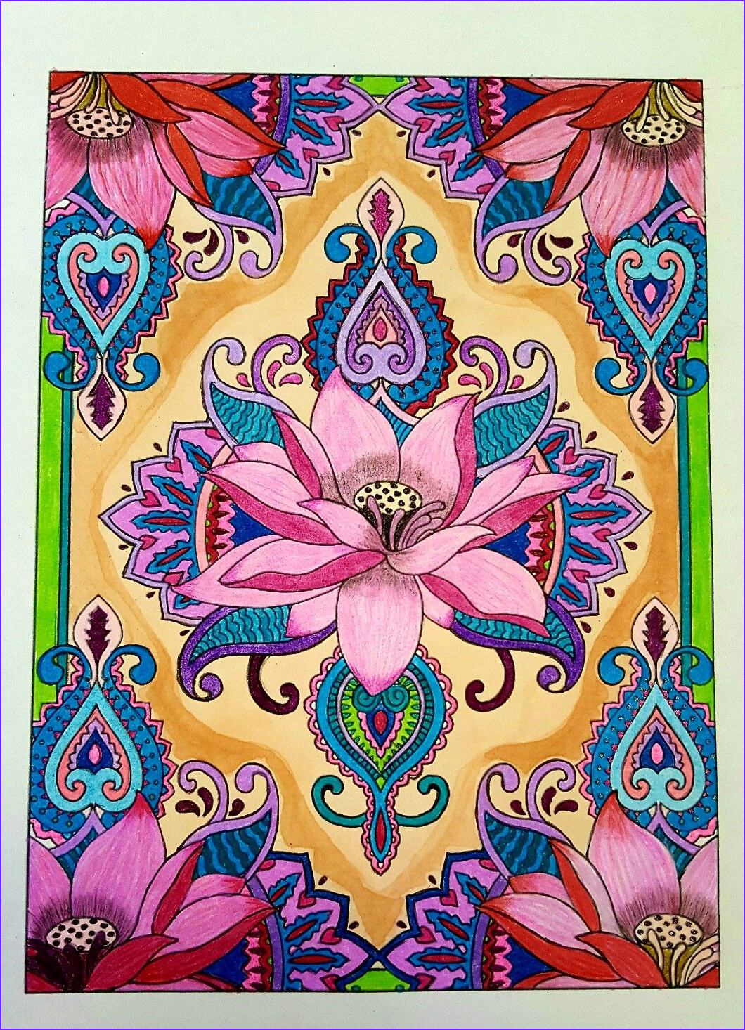 Design Originals Creative Coloring Cool Photography From Creative Haven Mehndi Designs Collection Coloring