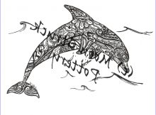 Dolphines Coloring Page Elegant Gallery Animal Coloring Page Dolphin Coloring Page Adult Coloring