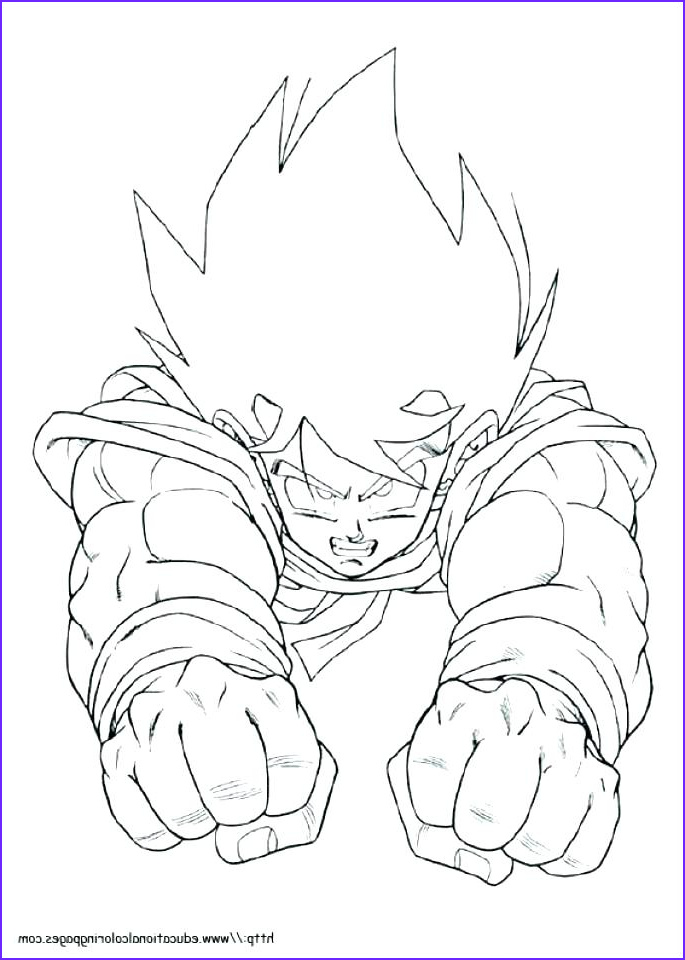 dragon ball z coloring pages goku super