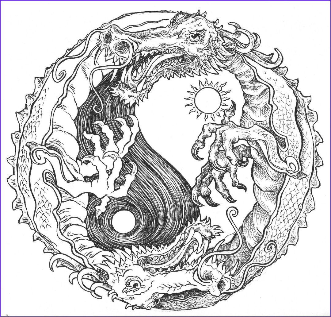 Dragon Coloring Page to Print Beautiful Photos Get This Dragon Coloring Pages for Adults Printable Wy6cn