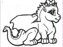 Dragon Coloring Page to Print Beautiful Stock Dragon Coloring Pages