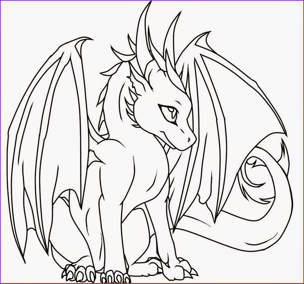 Dragon Coloring Page to Print Luxury Photos Coloring Pages Female Dragon Coloring Pages Free and
