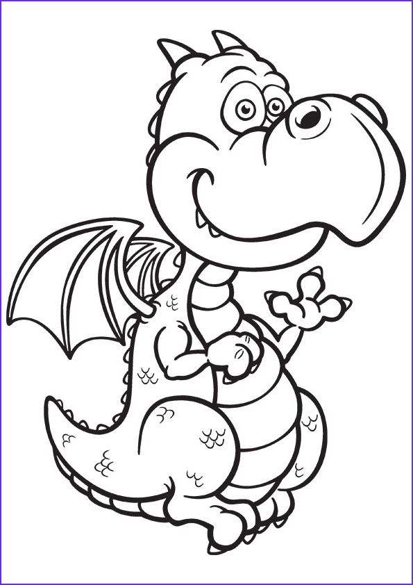 Dragon Coloring Page to Print New Photos Free Printable Dragon Coloring Pages for Kids Art Hearty