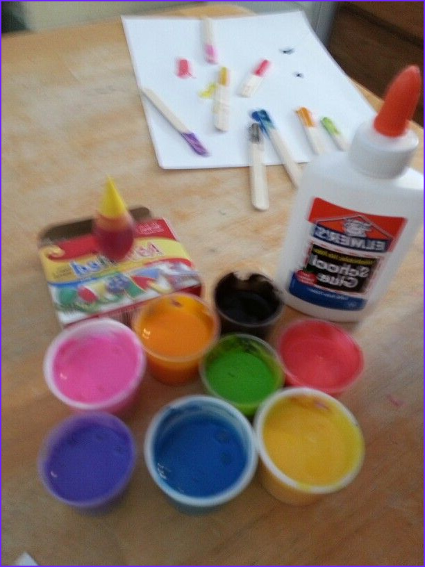 Dry Food Coloring Cool Image Food Coloring Mixed with School Glue for Painting at Home