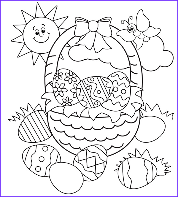 Easter Coloring Images Inspirational Stock Free Easter Colouring Pages the organised Housewife