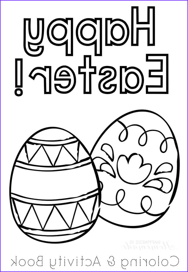Easter Coloring Images Luxury Stock Printable Easter Coloring Book Happiness is Homemade
