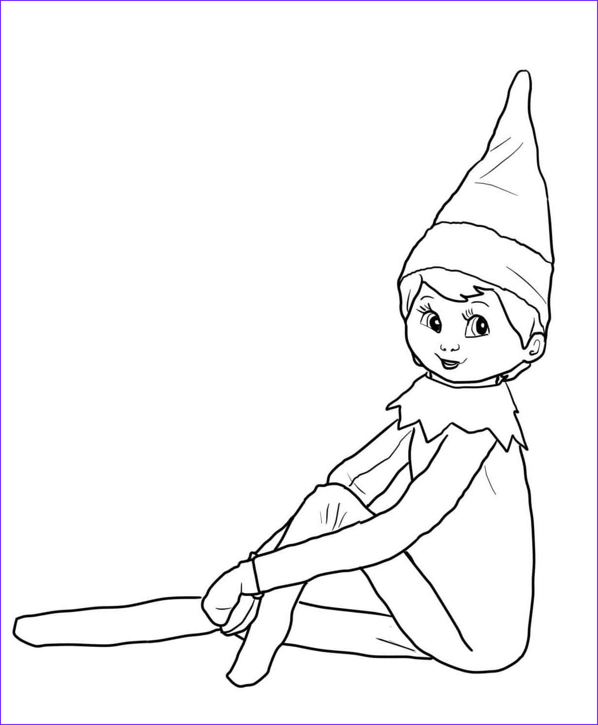 Elf On the Shelf Coloring Sheet Inspirational Photos Free Coloring Pages Of Christmas Elf On the Shelf Coloring