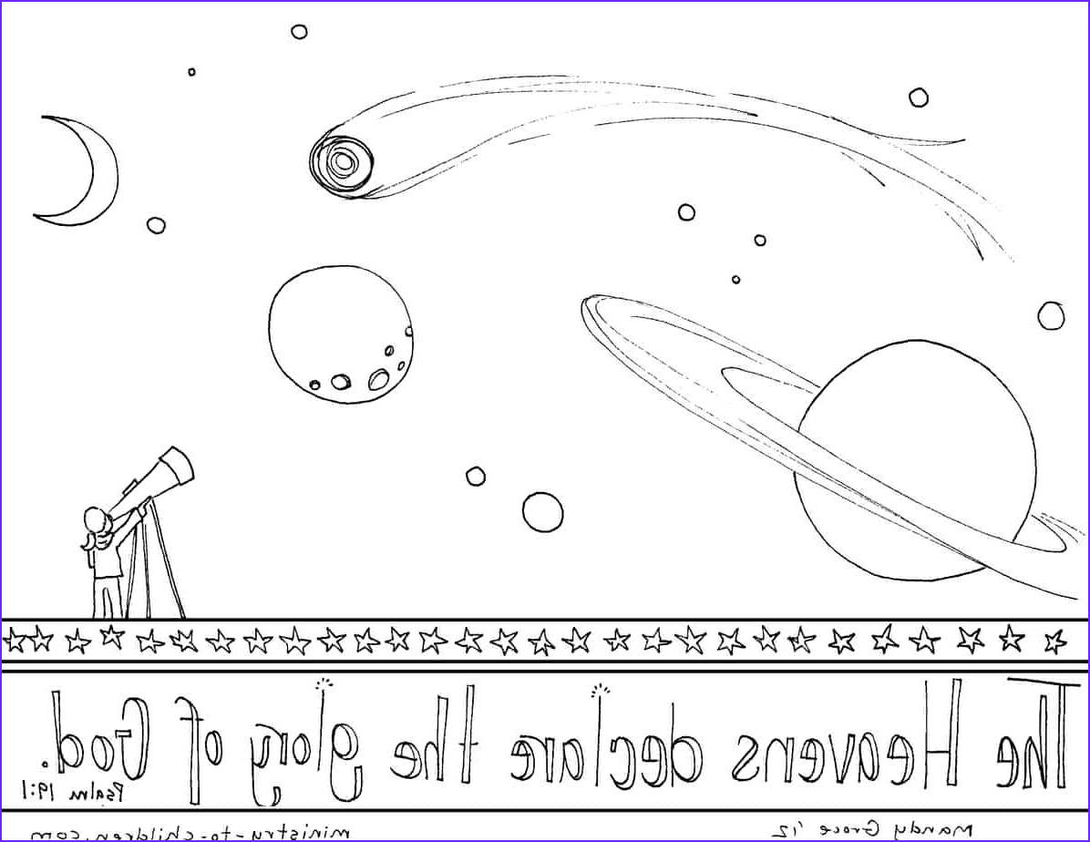 psalm 191 coloring page