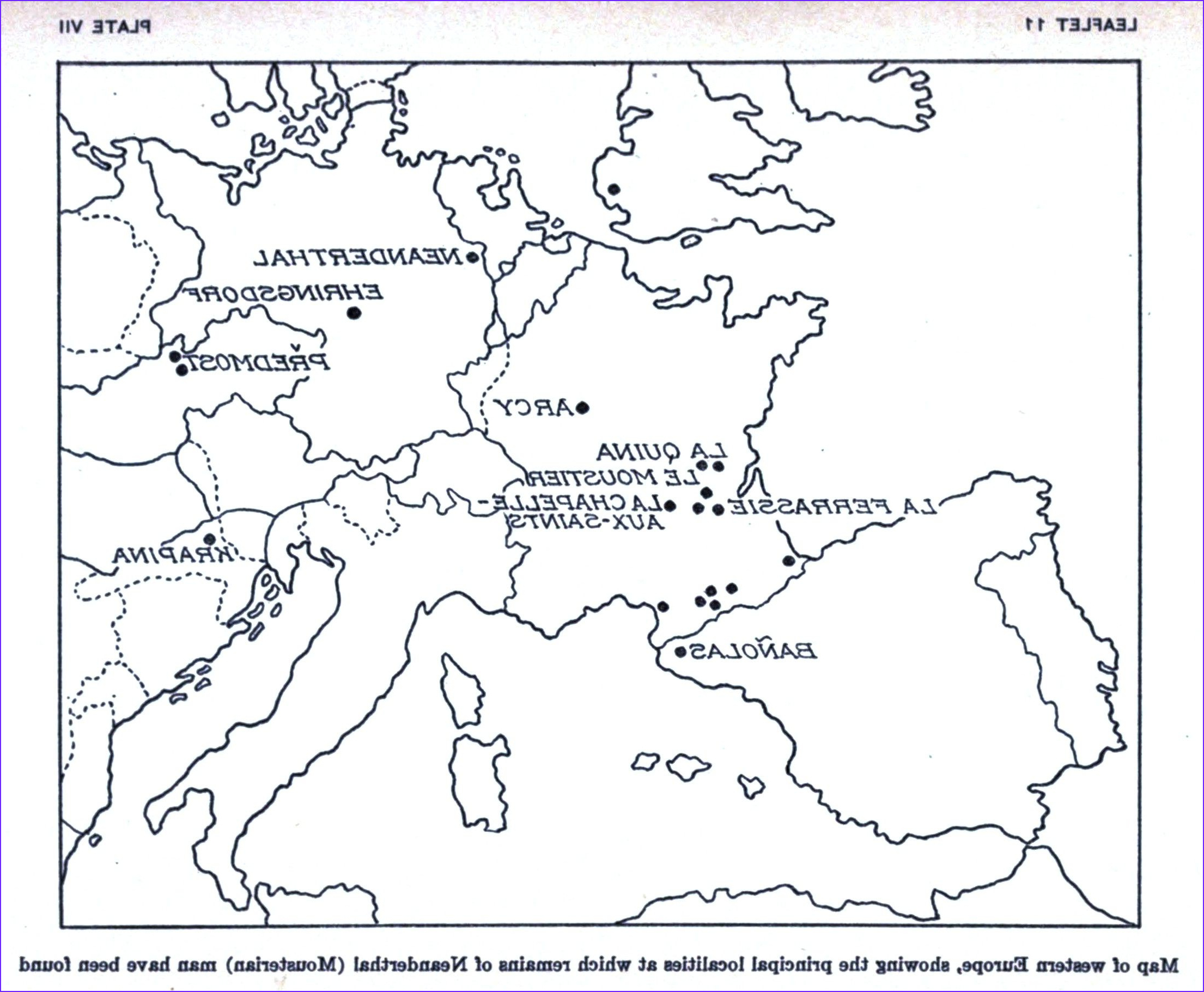 europe map coloring pages