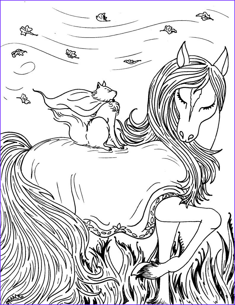 Fantasy Coloring Page for Adults Unique Photos Free Printable Fantasy Coloring Pages for Kids Best