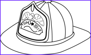 fireman hat coloring page 0515 0910 1301 1750