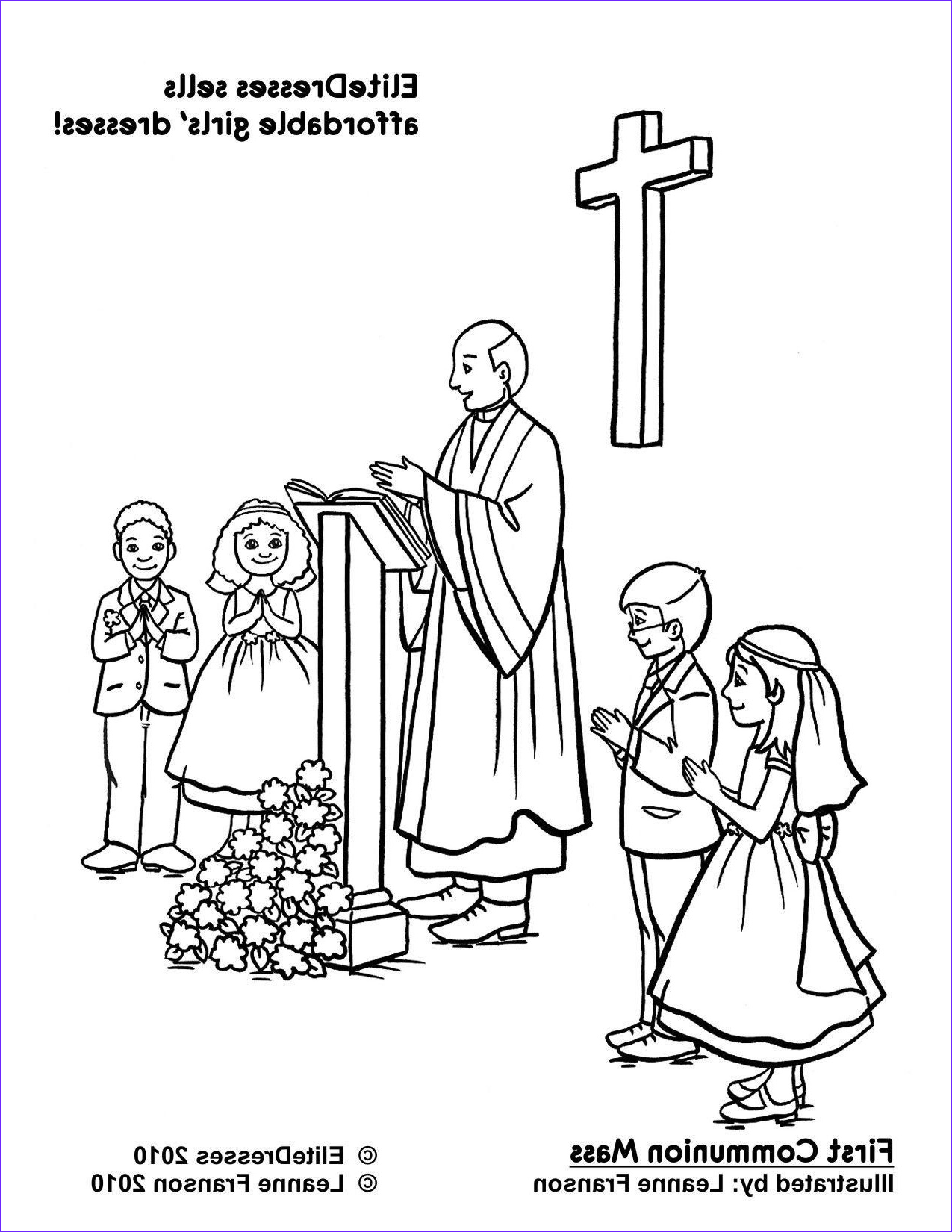 First Communion Coloring Page Beautiful Photos First Munion Coloring Pages Munion Coloring Printables