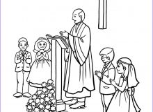 First Communion Coloring Page Elegant Gallery Munion Coloring Printables