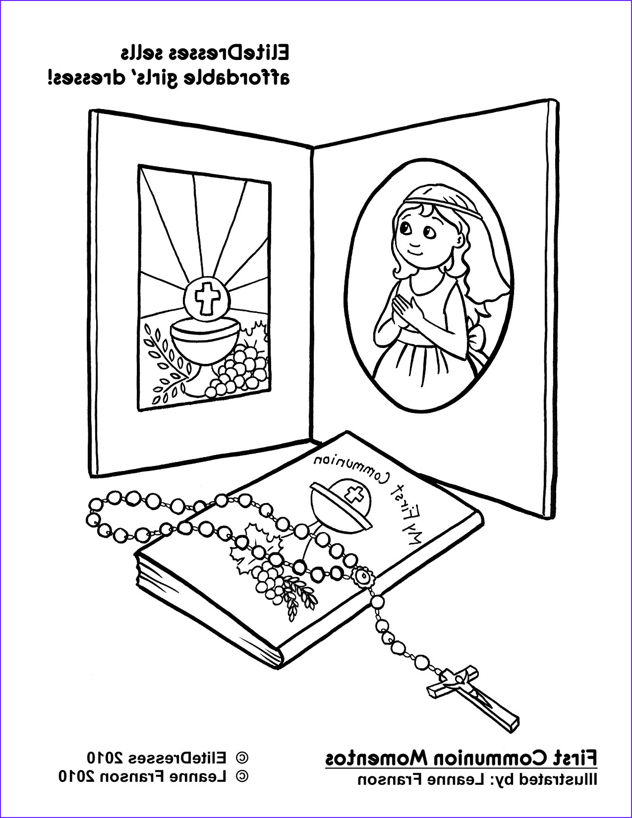 First Communion Coloring Page Luxury Collection First Munion Dress Coloring Pages Free and Printable