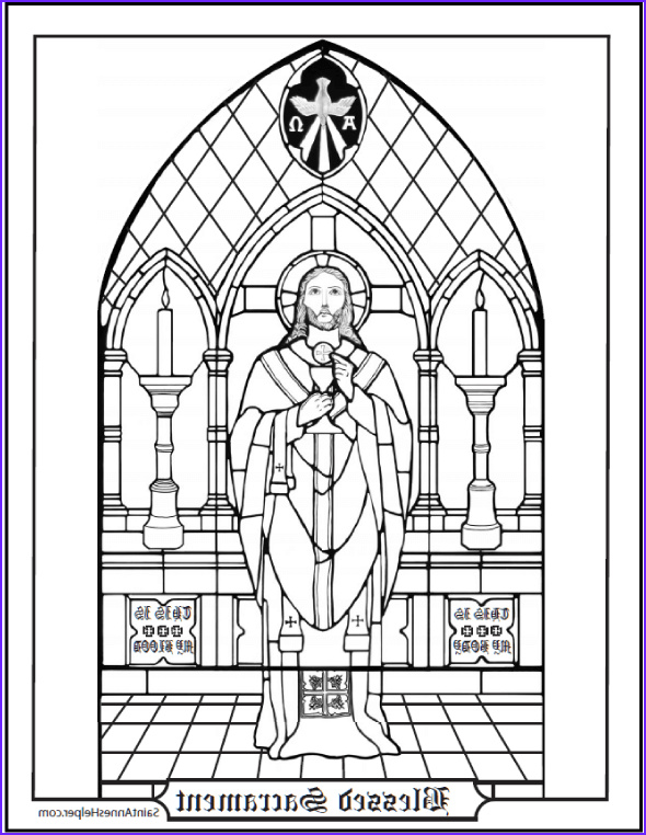 First Communion Coloring Page Luxury Photos 14 Munion Coloring Page Printables