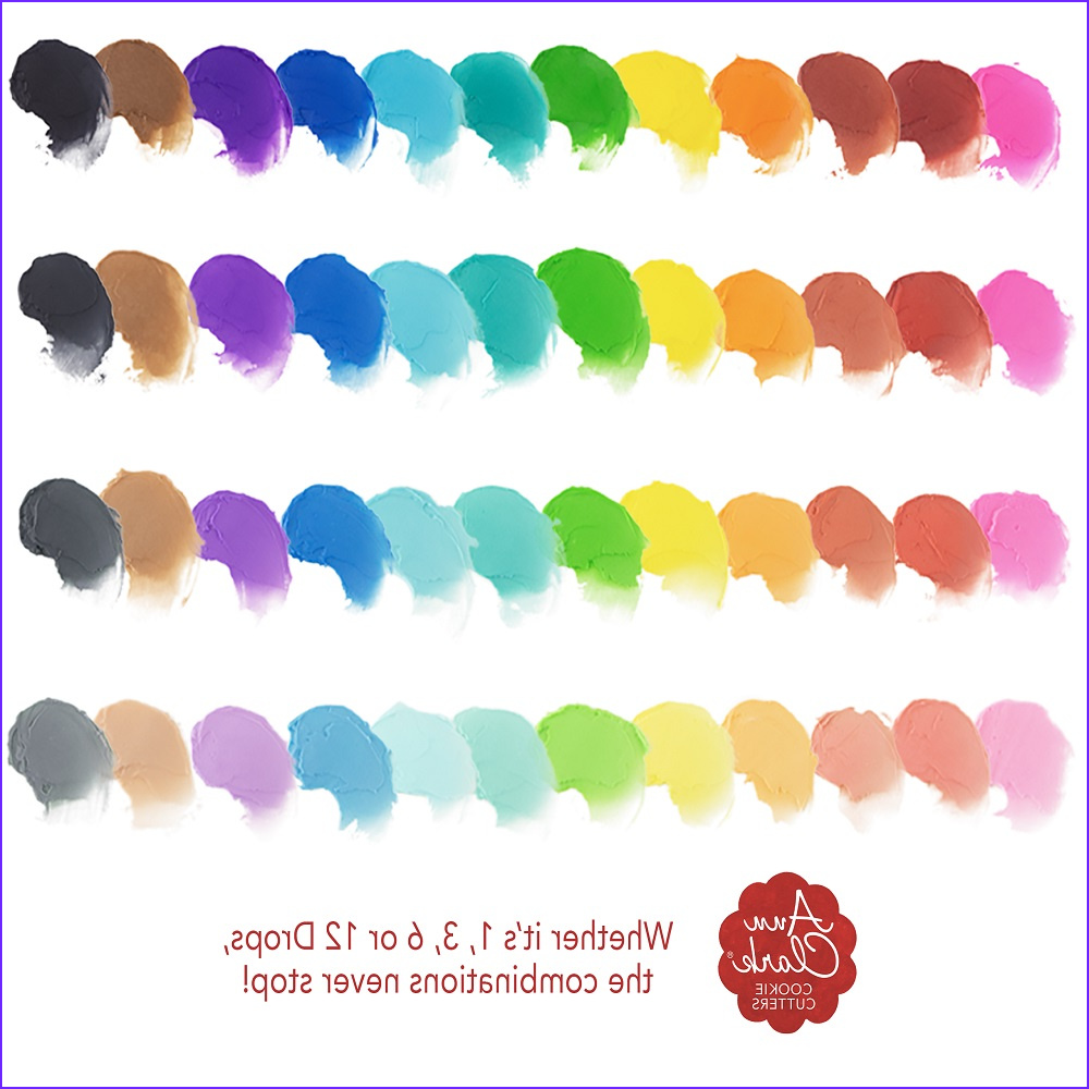 Food Coloring Pack Inspirational Photography Food Coloring Gel 12 Pack
