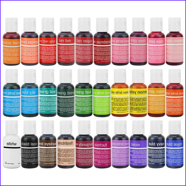 Food Coloring Pack New Photos Food Coloring – Layer Cake Shop