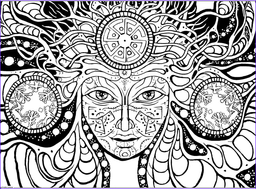 coloring pages trippy image 384