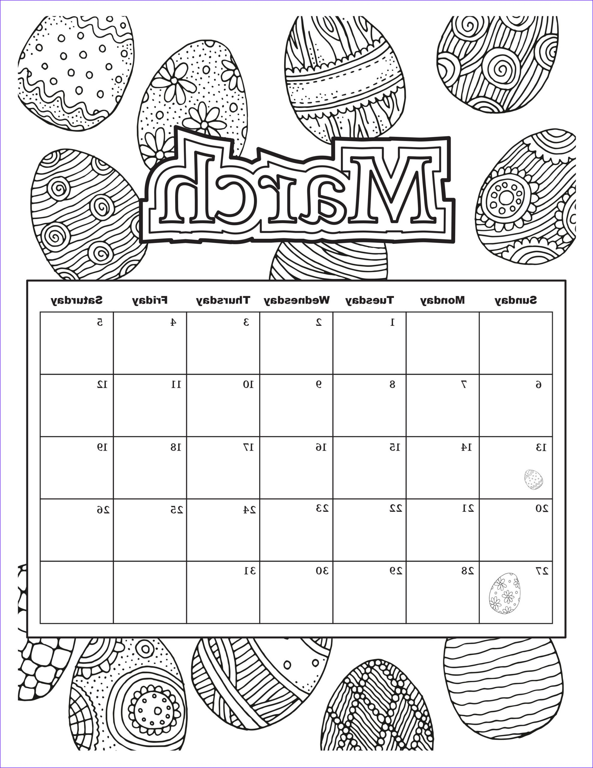 Free Printable Coloring Calendar Unique Gallery Free Download Coloring Pages From Popular Adult Coloring