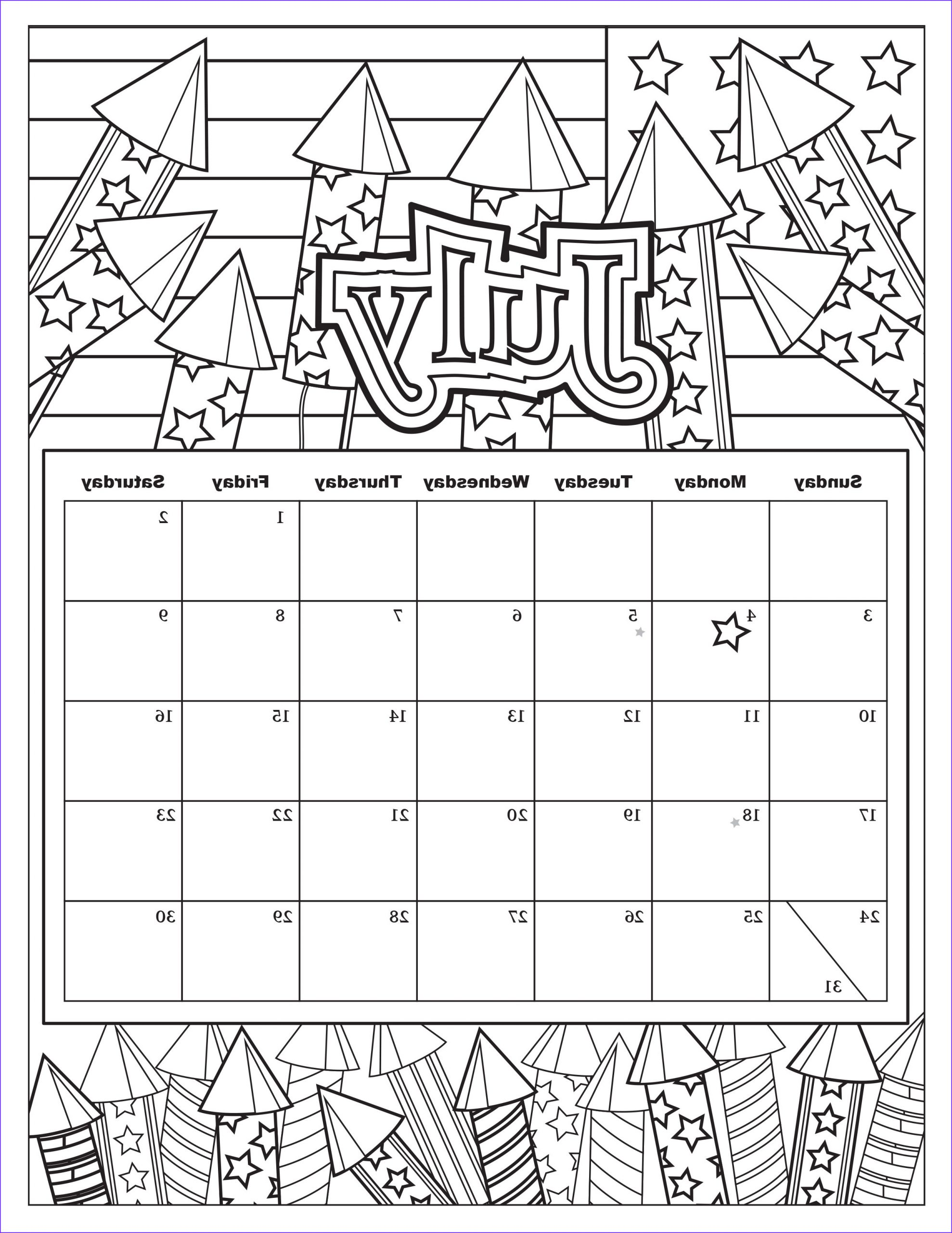 Free Printable Coloring Calendar Unique Photos Free Download Coloring Pages From Popular Adult Coloring