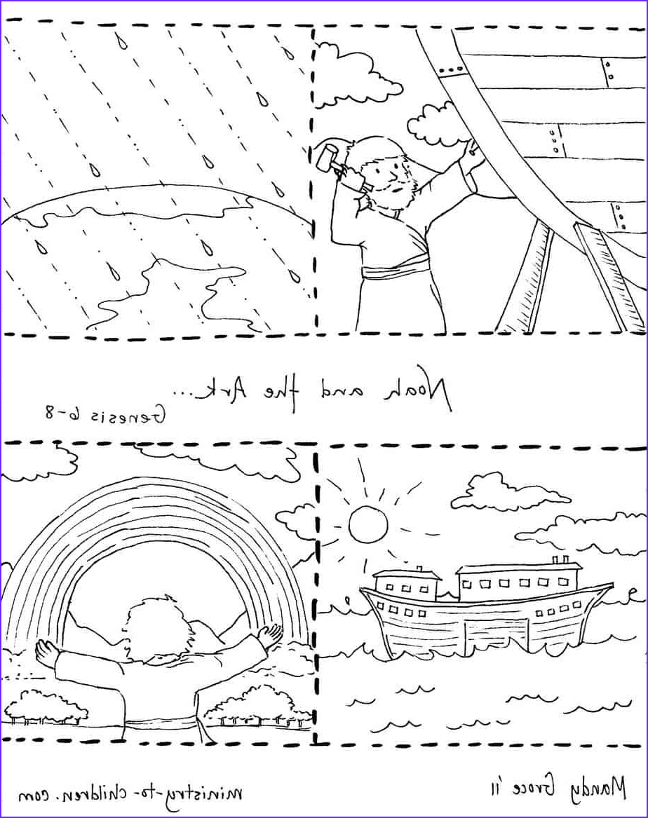 Free Printable Noah's Ark Coloring Page Beautiful Collection Noah and the Ark Coloring Pages