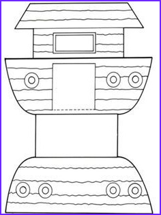 Free Printable Noah's Ark Coloring Page Elegant Photos Noah S Ark Free Printables Google Search with Images