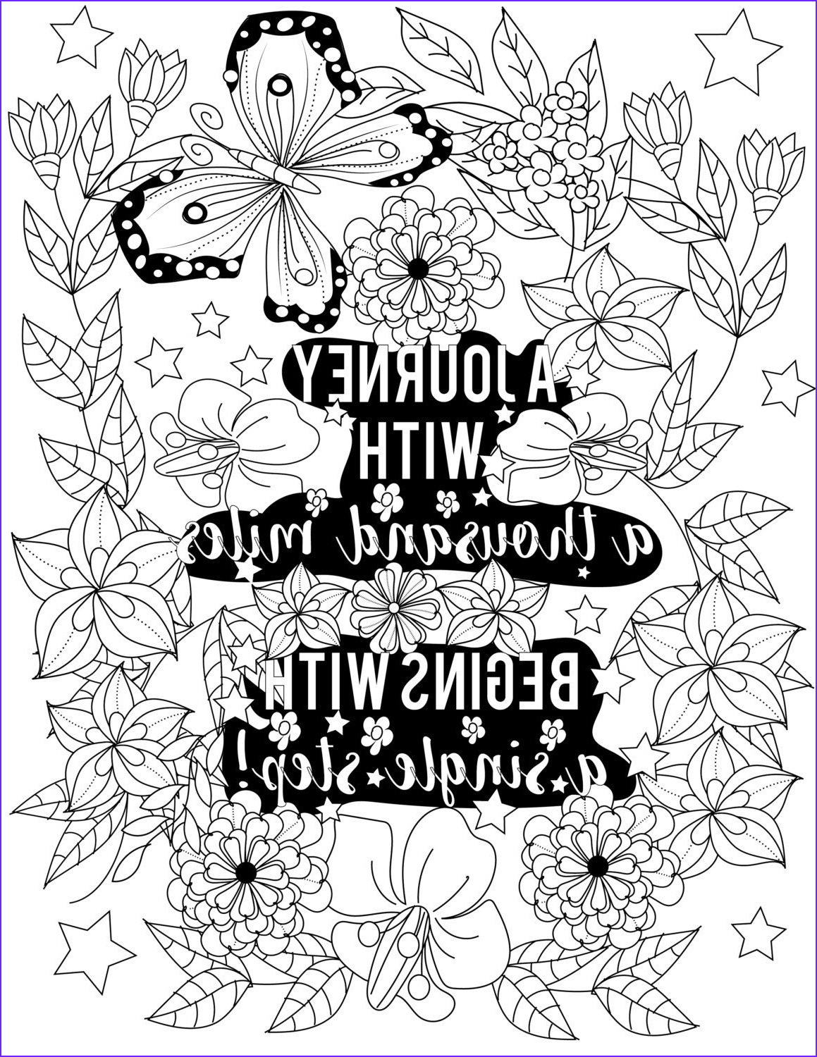 Free Quote Coloring Page New Image Inspirational Quotes A Positive & Uplifting by