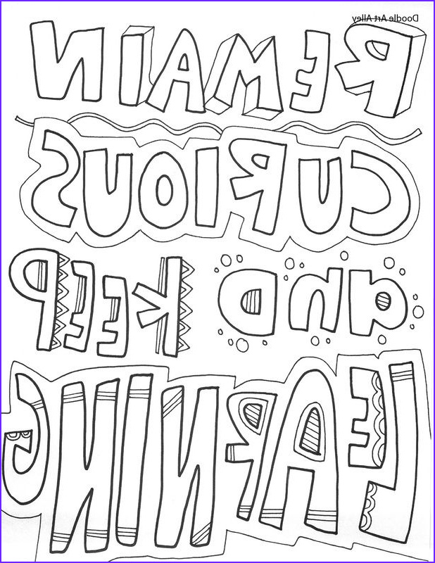 Free Quote Coloring Page Unique Collection Free and Printable Quote Coloring Pages Perfect for the