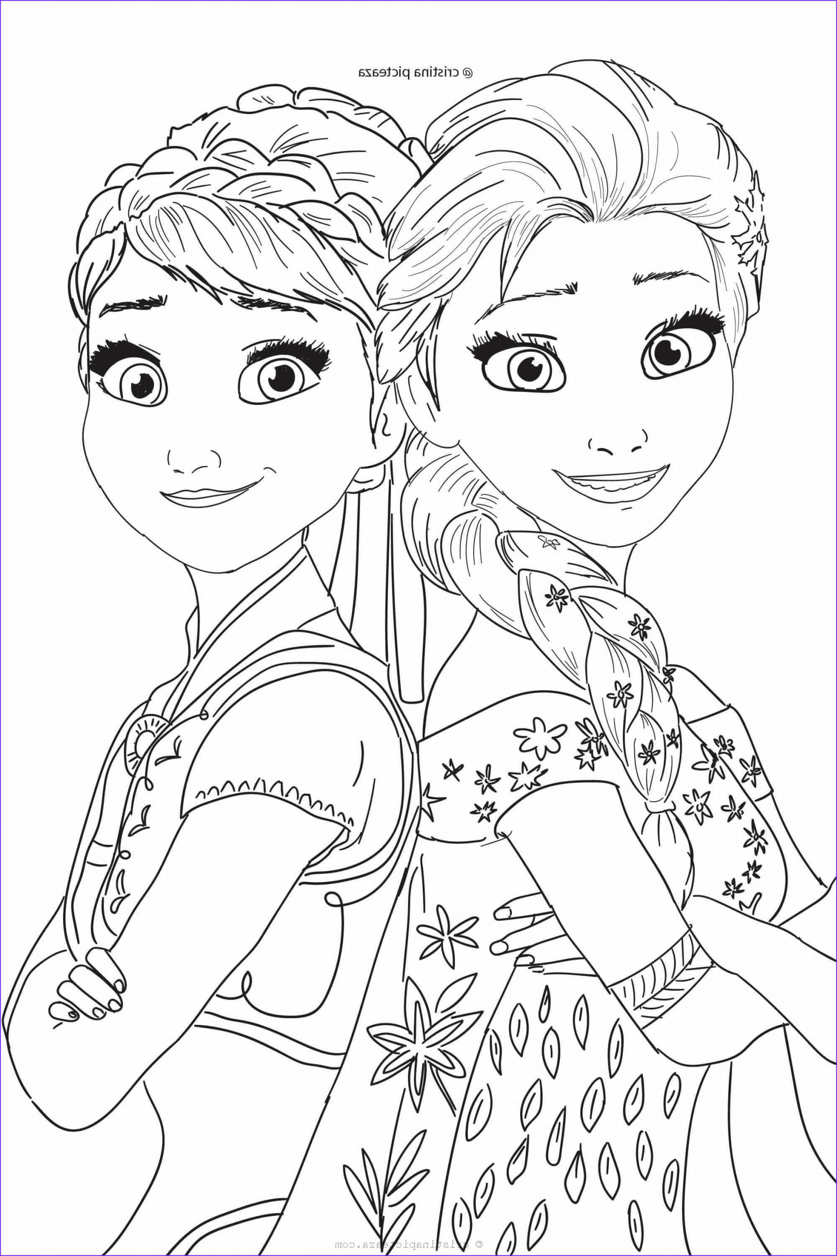 Frozen Coloring Page Free Printable Inspirational Photography Frozen 2 Coloring Pages – Elsa and Anna Coloring