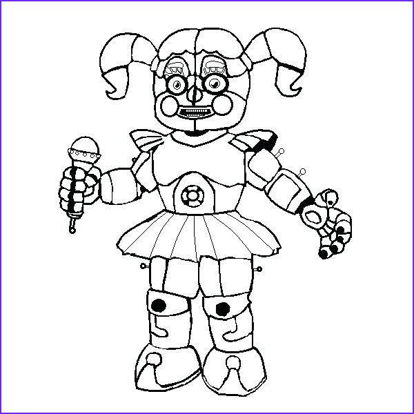 Funtime Freddy Coloring Page Elegant Images Have Fun With Fnaf Coloring Pages