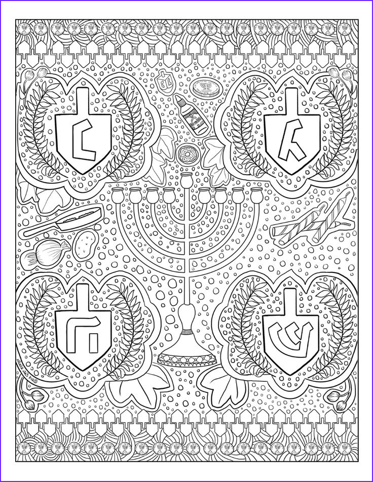 Gel Pen Coloring Page Beautiful Photos Free Download Chanukah Gel Pen Coloring Page