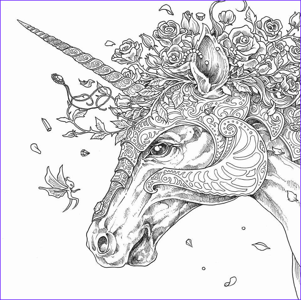 Hard Unicorn Coloring Page Best Of Photos Unicorn Coloring Pages for Adults Best Coloring Pages