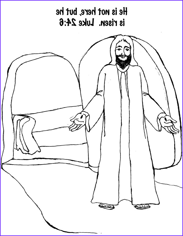 He is Risen Coloring Page Cool Photos He is Risen Coloring Page