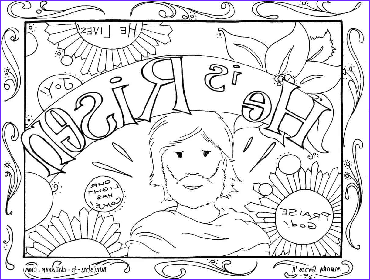 He is Risen Coloring Page Cool Photos He is Risen Coloring Pages