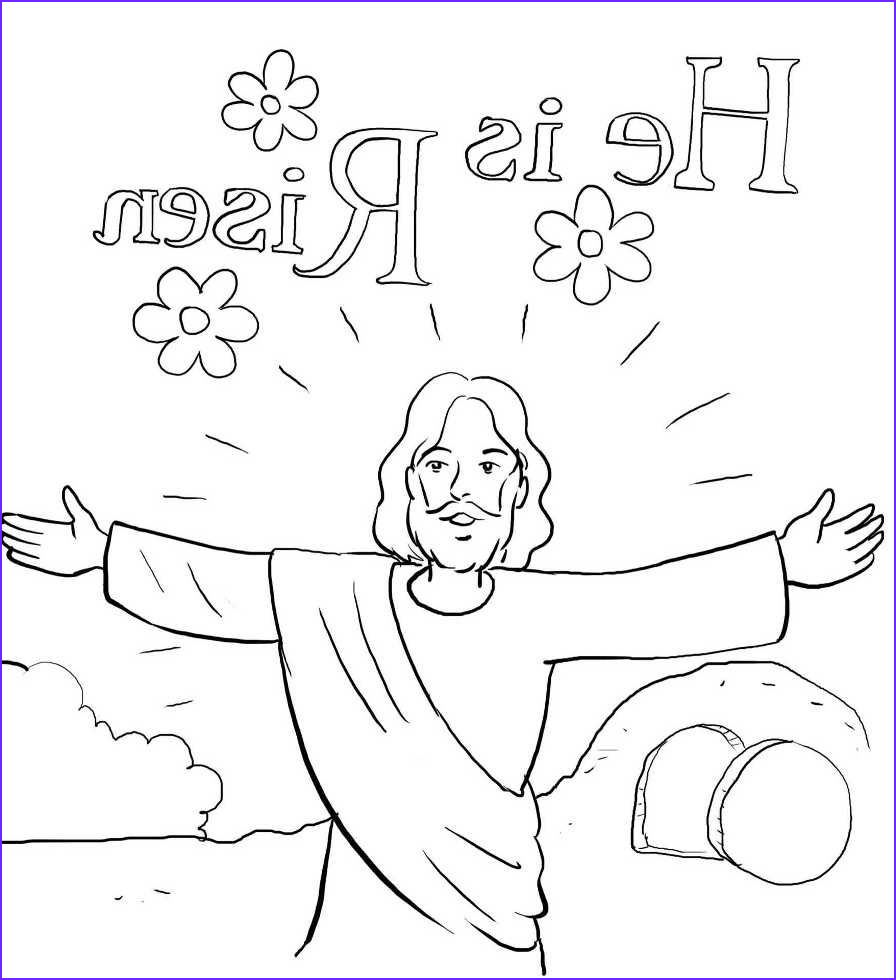 He is Risen Coloring Page Elegant Photos He is Risen
