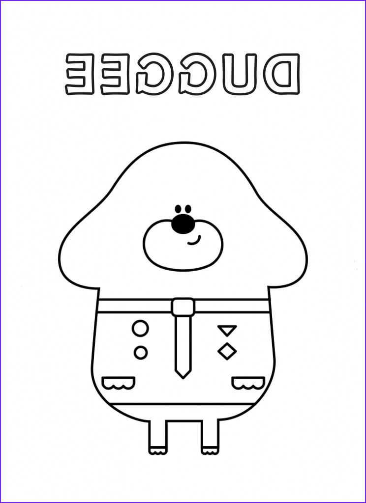 Hey Duggee Coloring Page Cool Photos Hey Duggee Coloring Pages at Getdrawings