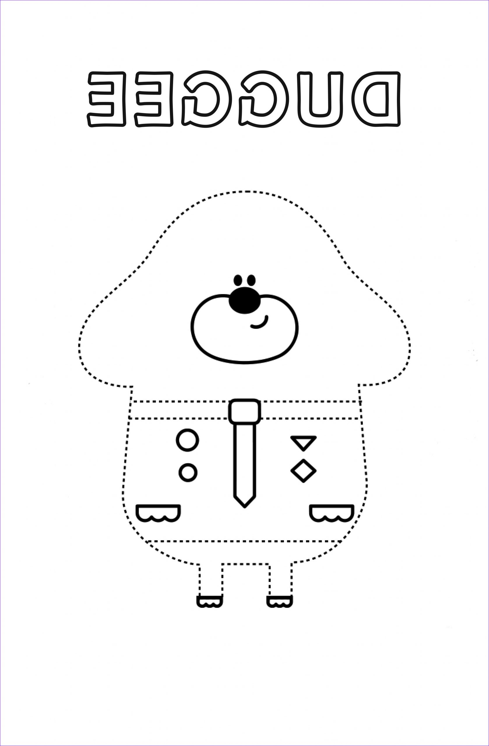 Hey Duggee Coloring Page Luxury Collection Duggee Colouring Sheet