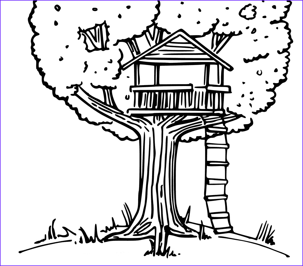 Houses Coloring Page Beautiful Photography Treehouse Coloring Pages Best Coloring Pages for Kids