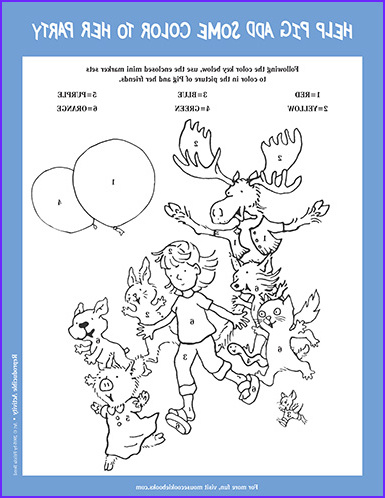 If You Give A Pig A Pancake Coloring Page Inspirational Gallery Pig Meet The Characters