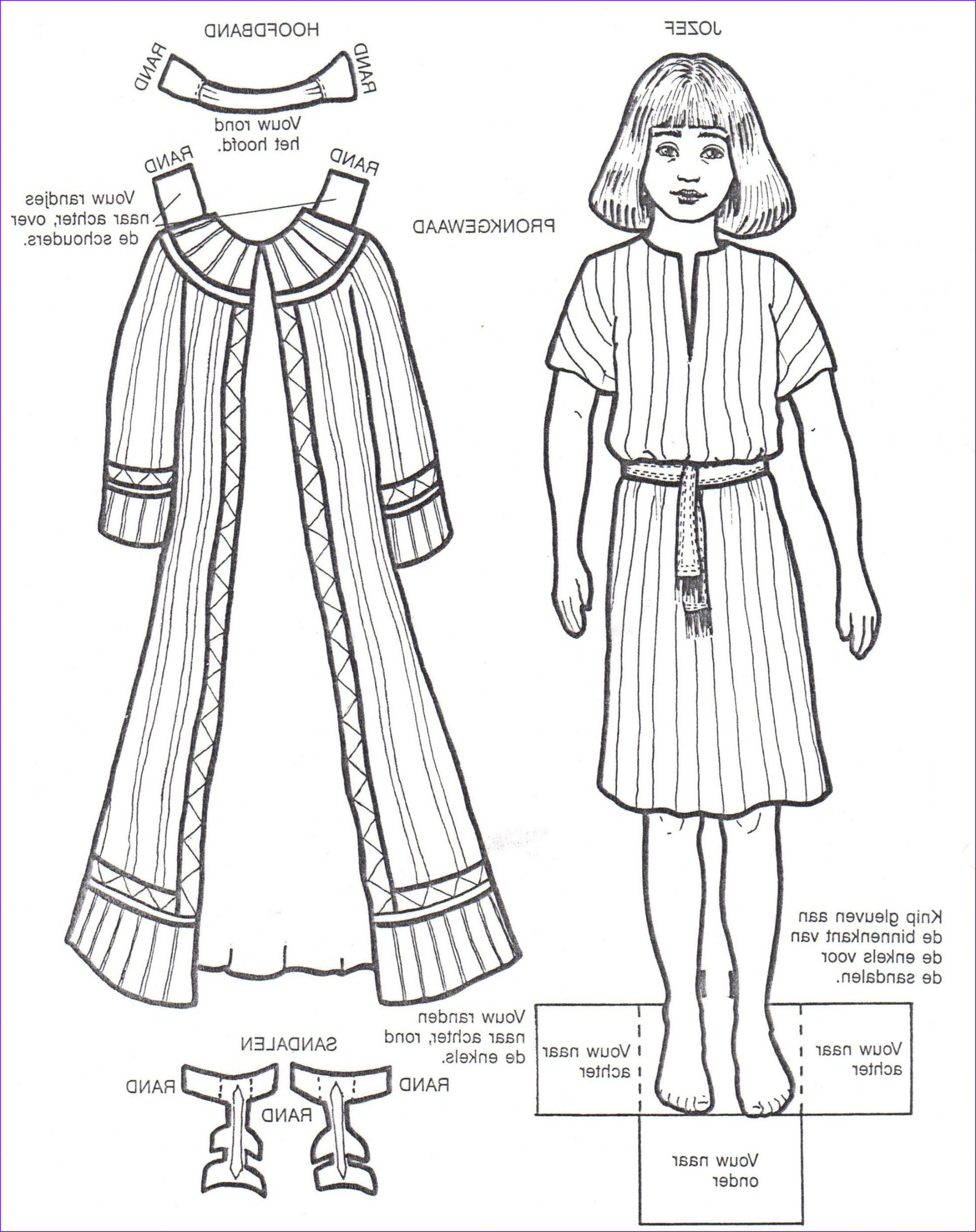 Joseph And The Coat Of Many Colors Coloring Page Unique Photos New Coat For Joseph