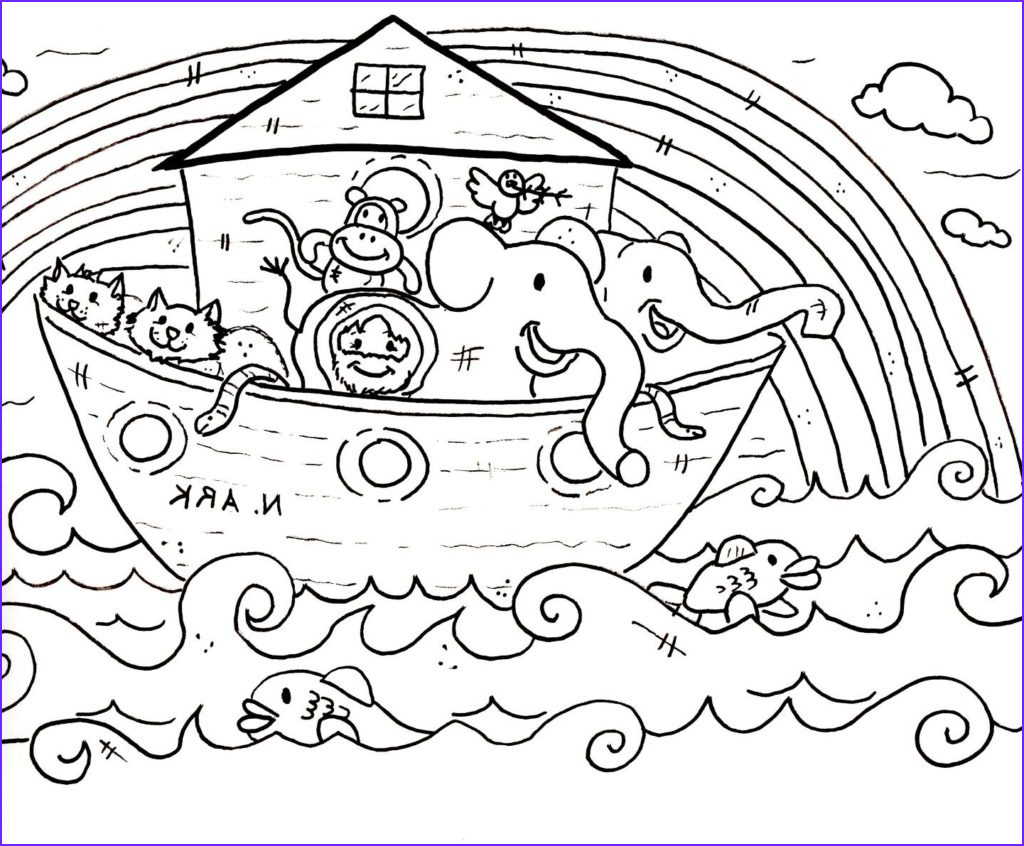 christian coloring page