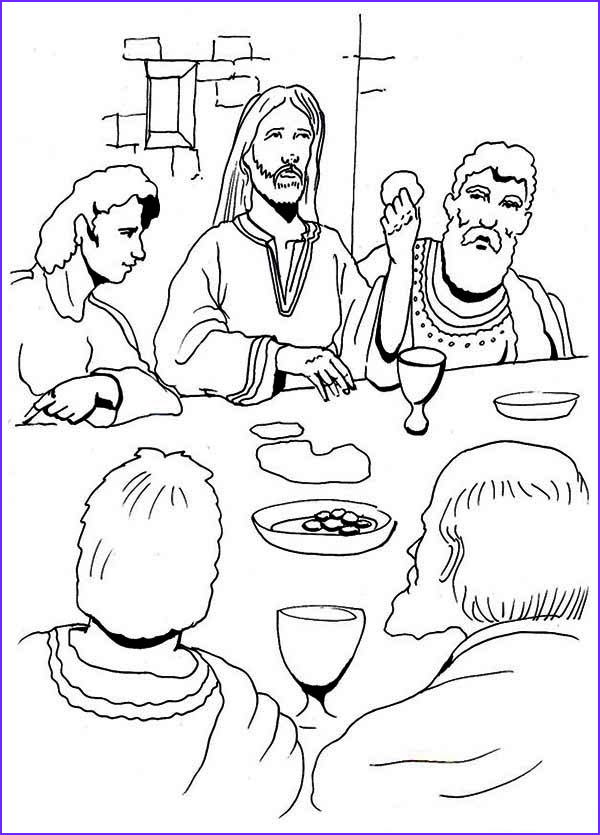Last Supper Coloring Page Awesome Image the Last Supper Coloring Page Coloring Home