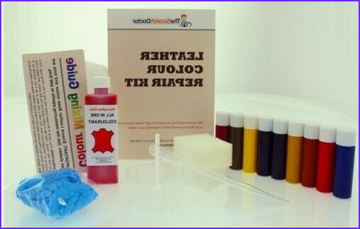 Leather Coloring Kit Inspirational Photos Leather All In One Dye Paint Repair Kit For Worn & Scratch