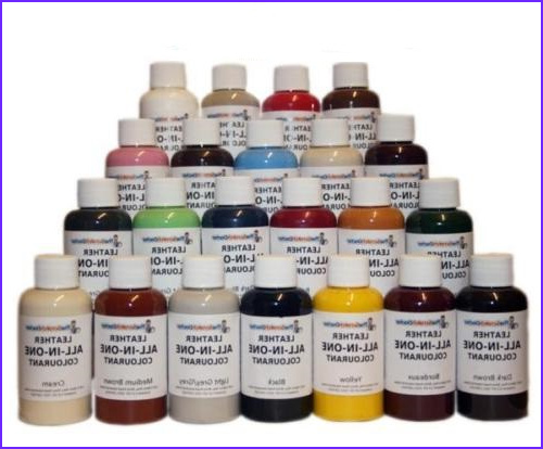 leather colourant kit stain pigment paint leather dye colour repair and recolour