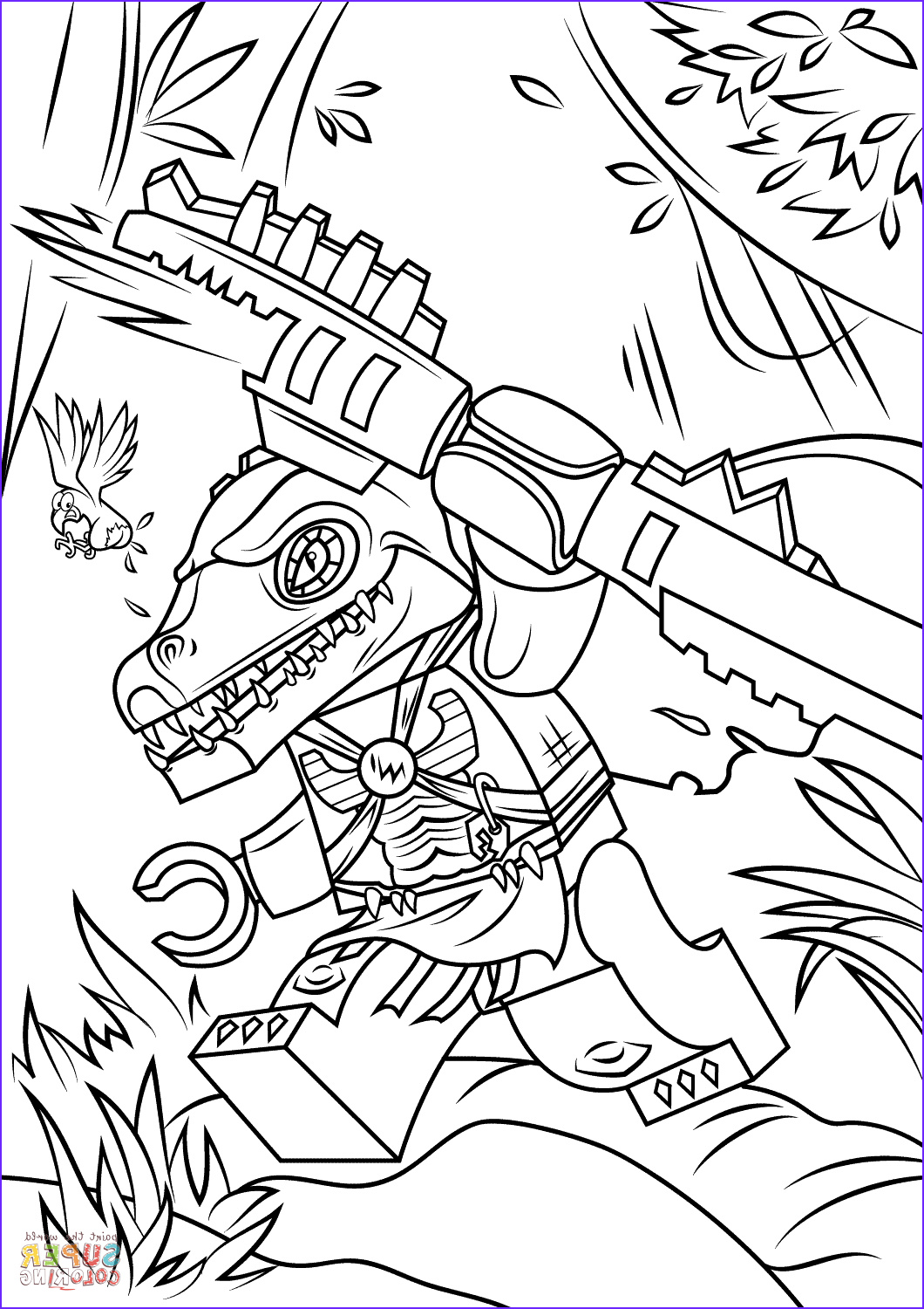 Lego Chima Coloring Page New Gallery Lego Chima Cragger Coloring Page