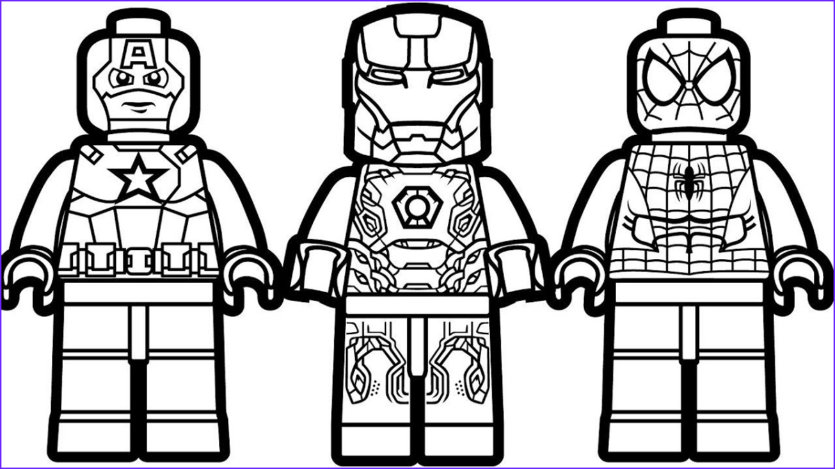 Lego Iron Man Coloring Page New Image Lego Iron Man Coloring Pages Easy